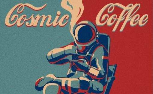 Space Engineers Cosmic Coffee Poster